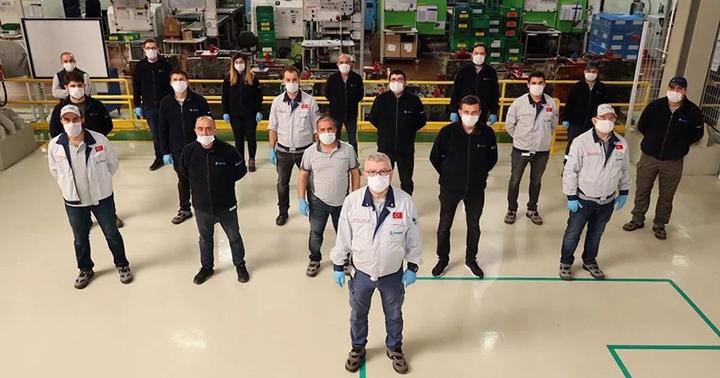 Ecoplas Otomotiv'den 200 hastaneye maske