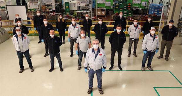 Ecoplas Otomotiv'den sağlık çalışanlarına yüz siperliği desteği