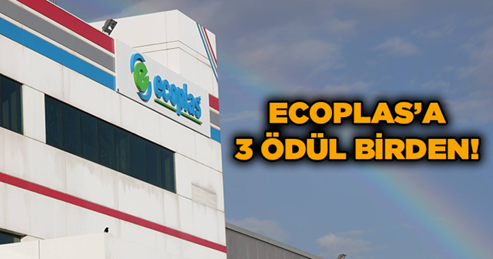 Ecoplas'a 3 ödül birden!