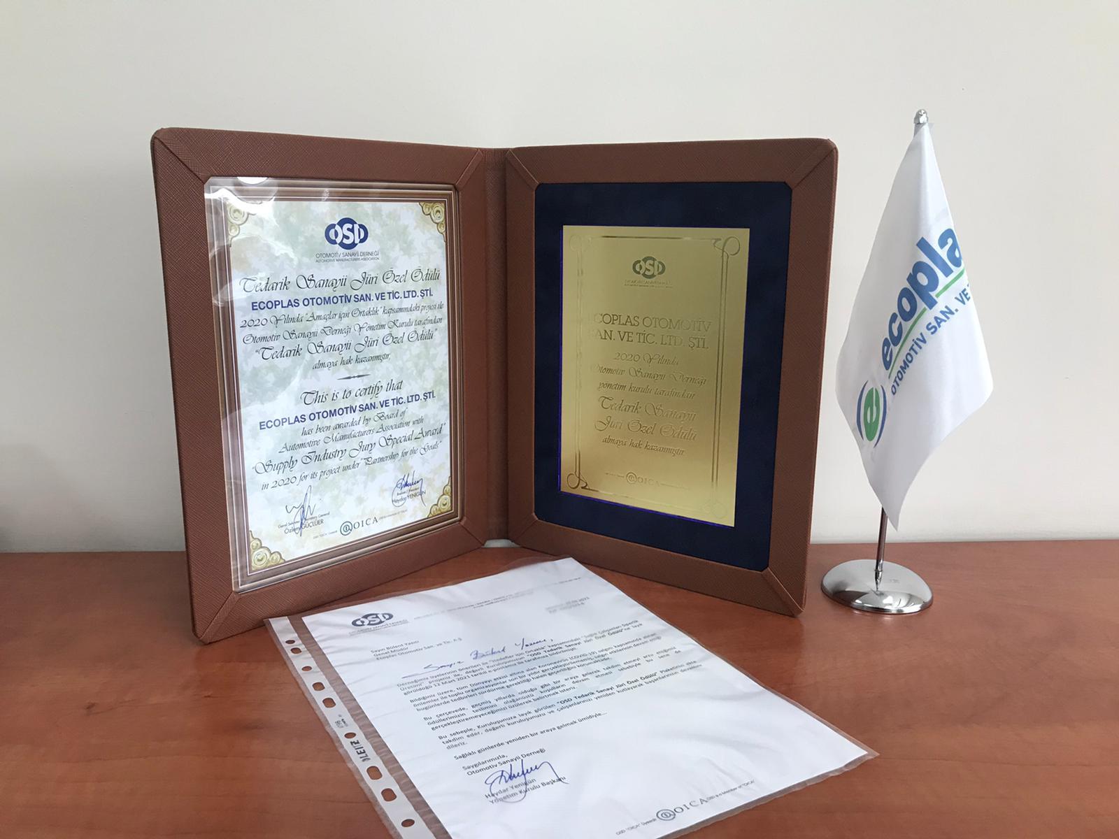 OSD Supply Industry Jury Special Award, 2021