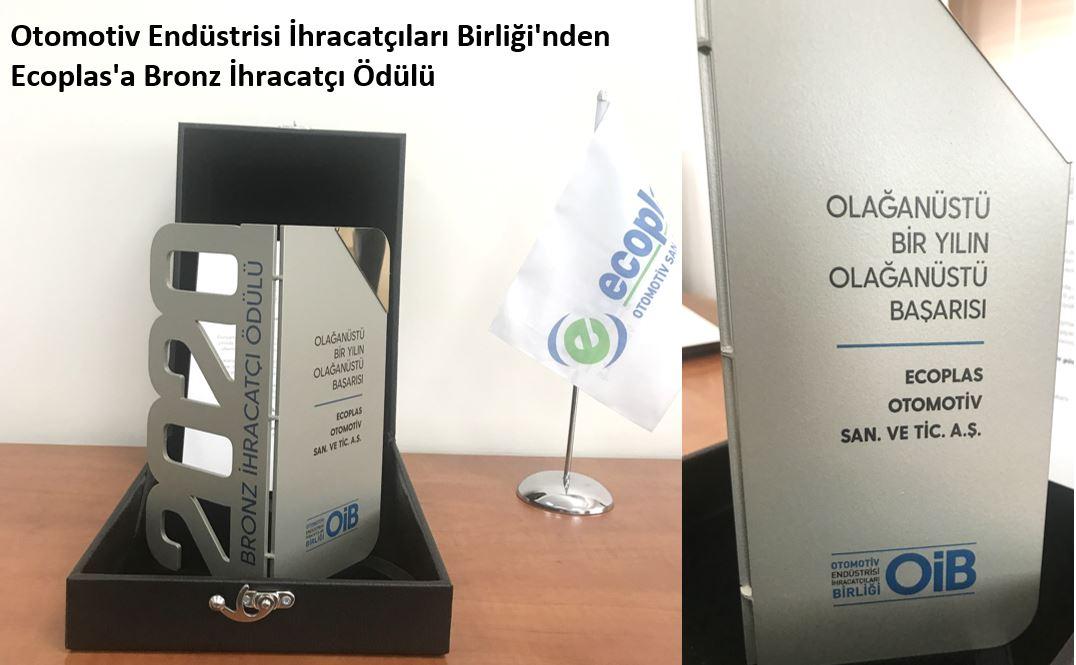 OİB Bronze Exporter Award, 2021