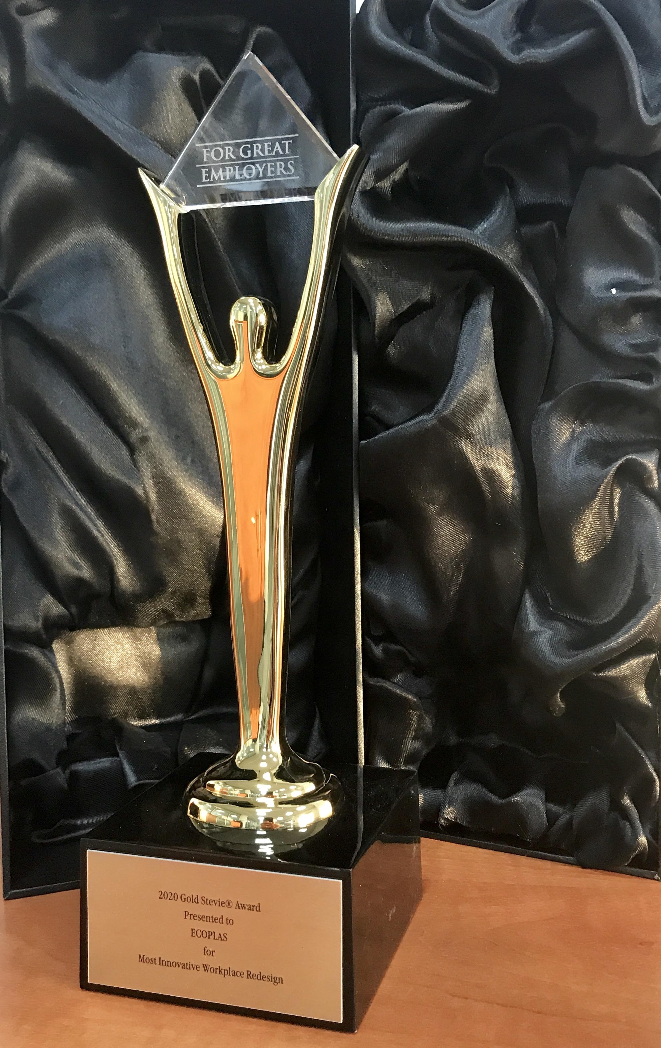 Stevie Awards 2020 - Gold