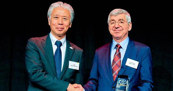 Toyota Avrupa'dan Ecoplas'a 2 büyük ödül - Anadolu Ajansı