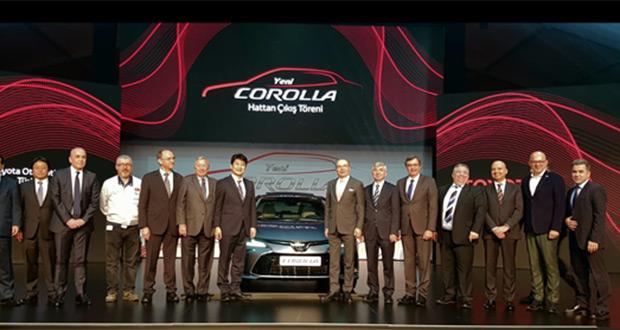 Yeni Toyota Corolla Hattan Çıkış Töreni